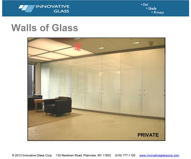 Commercial LC Privacy Glass